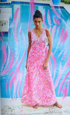 Lilly Pulitzer Papaya Playa Mallory Maxi