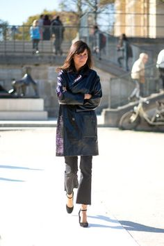 Fashion week goers did not disappoint on the first day of PFW. See the chicest looks here: