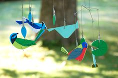 hey jen renee: Charley Harper/Kid Made Modern bird mobile