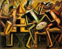 Makowski, Tadeusz (1882-1932) - 1929 Jazz (National Museum, Warsaw, Poland) by RasMarley, via Flickr