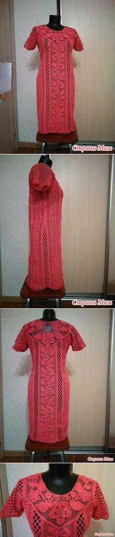 Платье 'Вечерний коктейль' - Вязание - Страна Мам