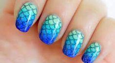 Cute fishy nails