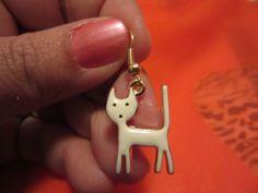 Small cat earings very cute¡¡¡ de Victoriaprettyangels en Etsy