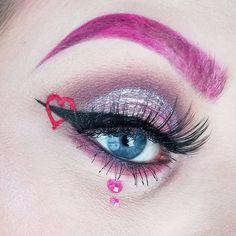Valentine's Day Heart Eye Shadow Inspiration | POPSUGAR Beauty