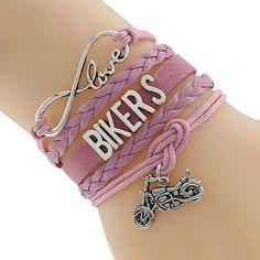 Handmade Motorcycle Bracelet