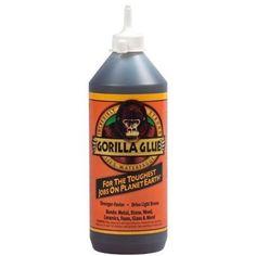 Gorilla Glue 50036 Multi-Purpose Waterproof Gorilla Glue Adhesive 4 pack 4 x 36-oz Bottles