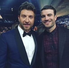 Brett Eldredge and Sam Hunt