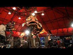 Le Manège Carré Sénart au CENTQUATRE Paris, Amusement Park, Ferris Wheel, Fair Grounds, Travel, Viajes, Traveling, Trips, Tourism