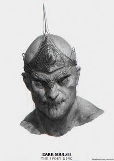 Dark Souls 2 The Ivory king by Verehin on DeviantArt