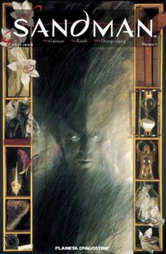 """""""Sandman"""" by Neil Gaiman and various artists. Challenged at various times for anti-family themes, offensive language, and being unsuited for age group."""