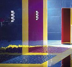 Exceptional Bathroom Flooring Glass Tiles Transparent Tiles Multi Color Design