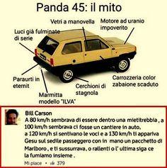 Panda 45: il mito.