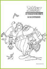 1000 images about asterix coloriages on pinterest cinema tvs and film - Les domaines de l etat ...
