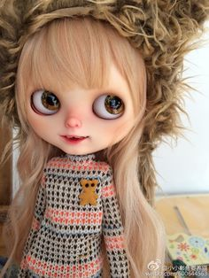 Ooak Custom Blythe Doll YAYA by Donna by Moctopus on Etsy