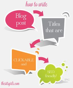 How to Create SEO Friendly Blog Post Titles: Having great content is wonderful, but if you want that content to get picked up in search engines, you need SEO friendly blog post titles. Here's how!