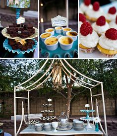 desserts tables