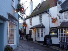 Lyme Regis at Christmas