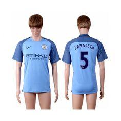Manchester City 16-17 #Zabaleta 5 Hemmatröja Kortärmad,259,28KR,shirtshopservice@gmail.com