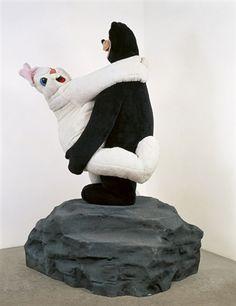 Paul McCarthy - Bear and Rabbit on a Rock (1992)