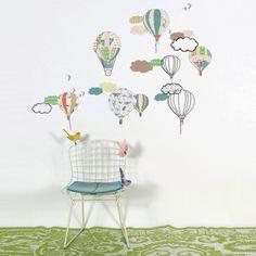 Stickers montgolfières