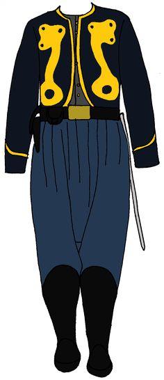 Union Zouave Officer's Uniform 2