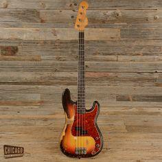 Fender Precision Bass Sunburst 1963