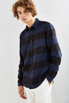 Cheap Monday Bolt Stripe Button-Down Shirt - Urban Outfitters