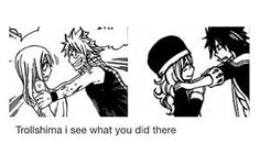 Nalu y Gruvia Natsu Y Lucy, Fairy Tail Natsu And Lucy, Fairy Tail Love, Fairy Tail Nalu, Fairy Tail Ships, Gajevy, Gruvia, Fairytail, Fangirl
