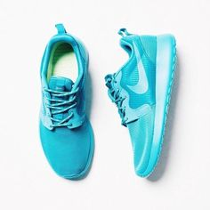 Mens and Womens custom Nike roshe design, unisex design, teal and pink pastel, cute trendy design, Customized nike roshe run, s