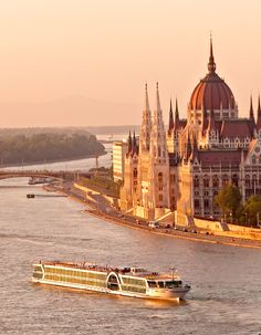 Danube River boat tour through Hungary, Austria, and Germany - some day I will take a Viking River Cruise