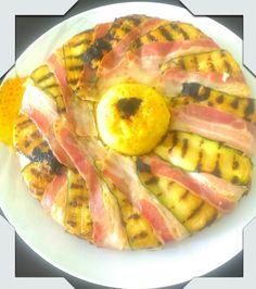 #torta di #risotto allo #zafferano con  #ripieno