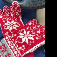 Norwegian Selbu Fingerless Gloves hand knitted from pure | Etsy