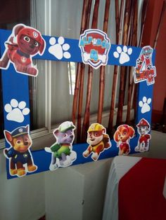 Paw Patrol Birthday Decorations, Paw Patrol Birthday Theme, Second Birthday Boys, 5th Birthday Party Ideas, Baby, Ideas Party, Kids Part, Motorcycle Birthday, Paw Patrol Birthday