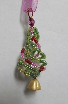 Seed Bead Christmas Tree