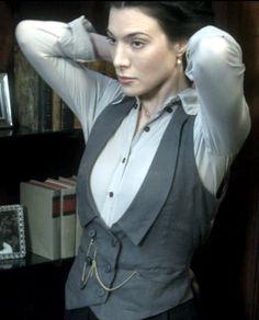 I need vests like this... Vests should really make a come-back.
