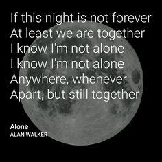 Alone by ALAN WALKER