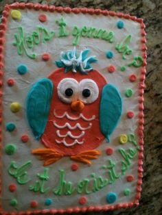 Cutest Gender Reveal Cake EVER!!!!!!!!!!!!!