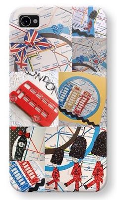 iPhone 4 phone cover - London Underground