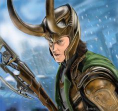 Loki by Sara Signoretto [©2014]