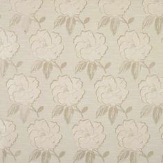 Bardot Curtain Fabric - Ivory