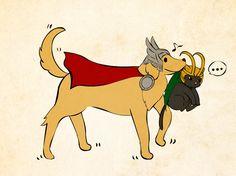 Thor & Loki :)
