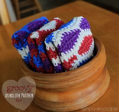 Crochet a colorful a