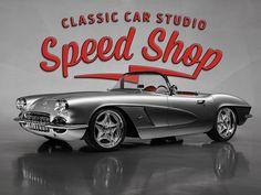 "Classic Car Studio on Instagram: ""Studio shot of our gorgeous LS3 powered 62 Vette. #classiccarstudio #62vette #basf #basfrefinish #vintageair #wilwooddiscbrakes…"" Vintage Air, Studio Shoot, Street Rods, Classic Cars, It Is Finished, Instagram, Vintage Classic Cars, Vintage Cars, Classic Trucks"