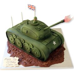 Tank Cake | Birthday Cakes | The Cake Store