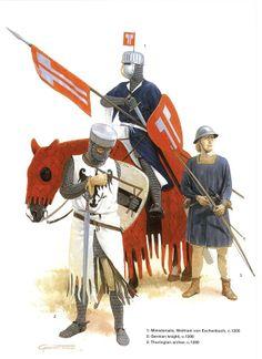 German Medieval Armies 1000–1300 - circa 1200. Osprey Publishing