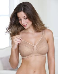 With drop down cups for easier feeding. DD-L cup Get the Charlotte Nursing  Bra in Nude by Royce in Nude now from Bravissimo for only 5134c48c4519