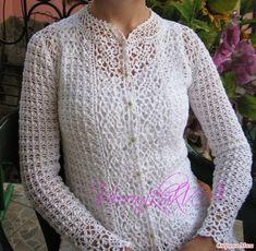Irish crochet &: 2 летних жакета