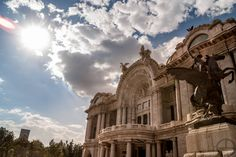 A picture I took from the beautiful PALACIO DE BELLAS ARTES in Mexico City #travel #photography #nature #photo #vacation #photooftheday #adventure #landscape