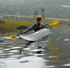 Wow, look at the angle of this #kayak! IMPRESSIVE!