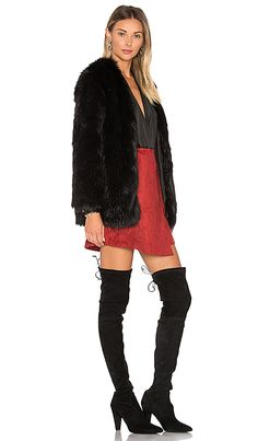 Jill Faux Fur Embroidered Jacket Guess Com My Style Pinterest